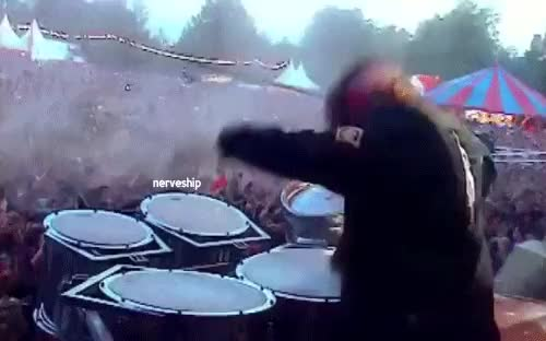 Watch 2004 GIF on Gfycat. Discover more clown, mystuff, shawn crahan, slipknot, slipknot live GIFs on Gfycat