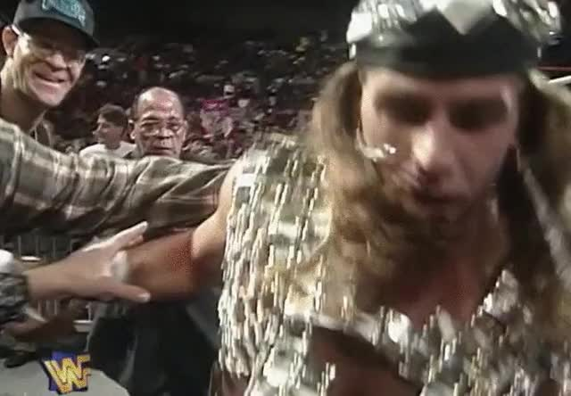 Watch Fat Bowl Cut Wrestling Kid at Survivor Series 1996 GIF on Gfycat. Discover more SquaredCircle, squaredcircle GIFs on Gfycat