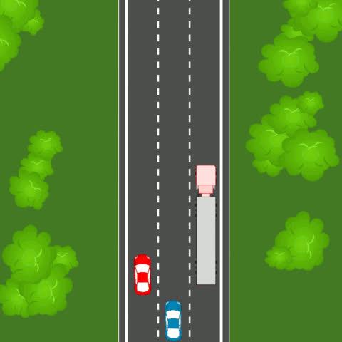 transportation, truck, trucks, Jackknifing truck GIFs