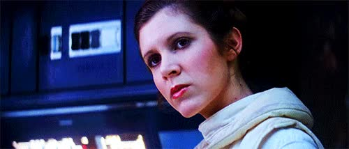 Watch this carrie fisher GIF on Gfycat. Discover more carrie fisher, princess leia GIFs on Gfycat
