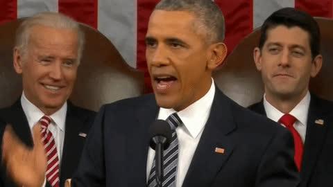 barack obama, joe biden, paul ryan, politics, Union Work GIFs