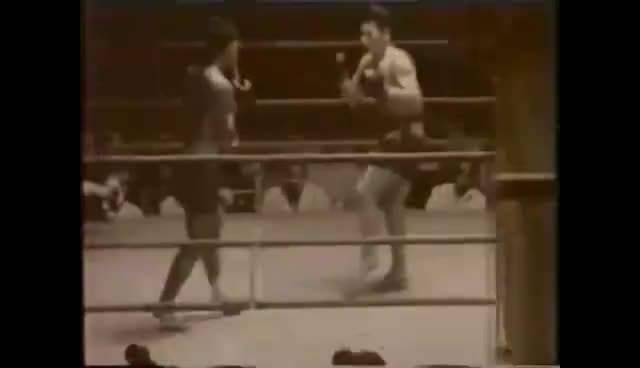 The Origins of Japanese Kickboxing - The Fight that Started It All GIFs