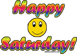 Watch and share Happy Sat animated stickers on Gfycat