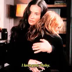 Watch and share Demi Moore GIFs and I Love You GIFs on Gfycat