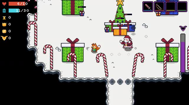 Watch and share Santa Claus GIFs and Pixel Art GIFs by Hyper Fox Studios on Gfycat
