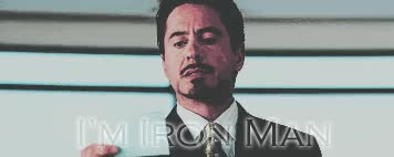 Watch and share I Am Iron Man GIF By Sherisang GIFs on Gfycat