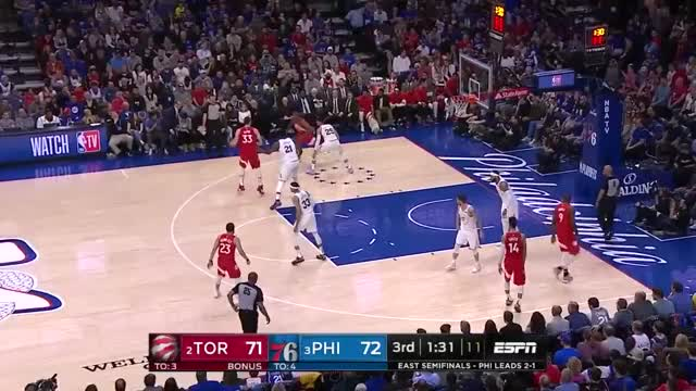 Watch and share Philadelphia 76ers GIFs and Toronto Raptors GIFs by queener1994 on Gfycat