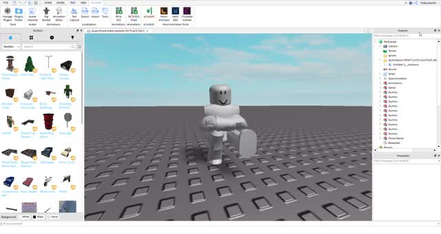 Watch and share Super Emote Maker Lolololol (MY PLACE ONLY) - Roblox Studio 2019-11-04 18-02-58 GIFs on Gfycat