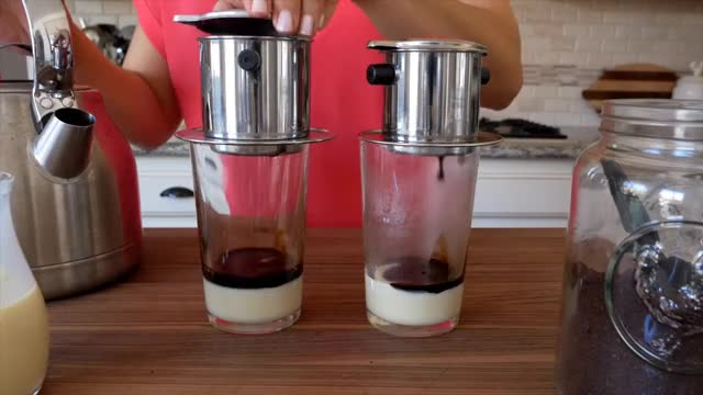 Watch Vietnamese Iced Coffee | Kitchen Confidante GIF on Gfycat. Discover more Recipe, Vietnam, beverage, coffee, cooking, drink, food, vietnamese GIFs on Gfycat