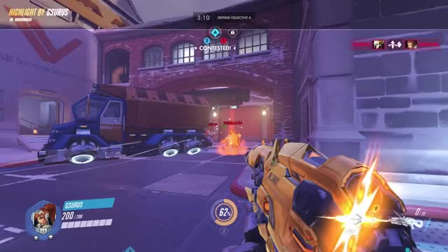 Watch highlight GIF by @gsurus on Gfycat. Discover more highlight, overwatch, widowmaker GIFs on Gfycat