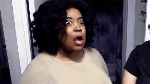 ApprenticeEh, Danielle, OMG, gasp, no, rage, OMG GIFs
