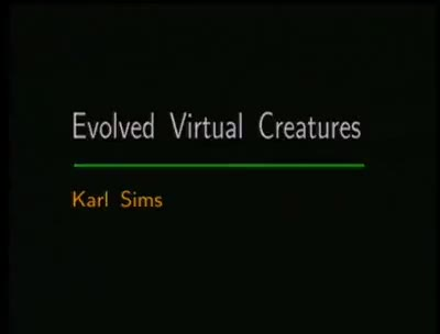 Watch Karl Sims - Evolving Virtual Creatures With Genetic Algorithms GIF on Gfycat. Discover more related GIFs on Gfycat