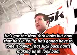 Watch and share Philadelphia Flyers GIFs and I Love His Smile GIFs on Gfycat