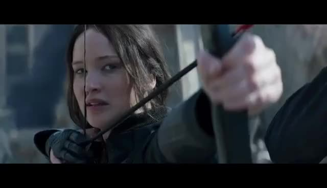 bow and arrow, hunger games, the hunger games, The Hunger Games GIFs