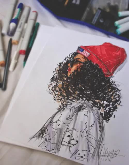 Watch and share Art Drawing GIFs by Clit_Eatswood on Gfycat
