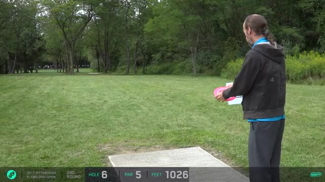 Watch and share 2017 Pittsburgh Flying Disc Open | Round 2, Front 9 | Goodpasture, Schultz, Johansen, Lizotte GIFs by Ultiworld Disc Golf on Gfycat