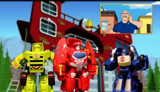 Watch and share RESCUE BOT Toys, Episode 1: Dinosaur Crisis - It's Rescue Bots Vs. Dinosaurs GIFs on Gfycat