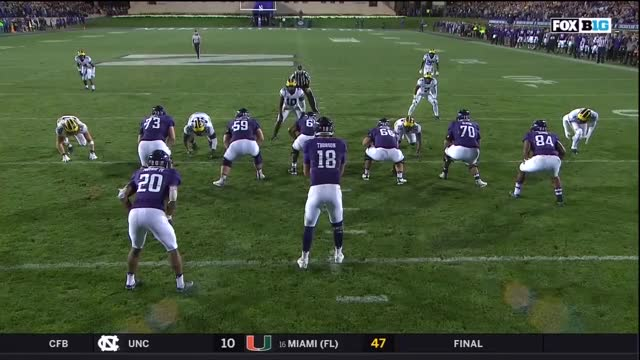 2018 Michigan Football Highlights @ Northwestern