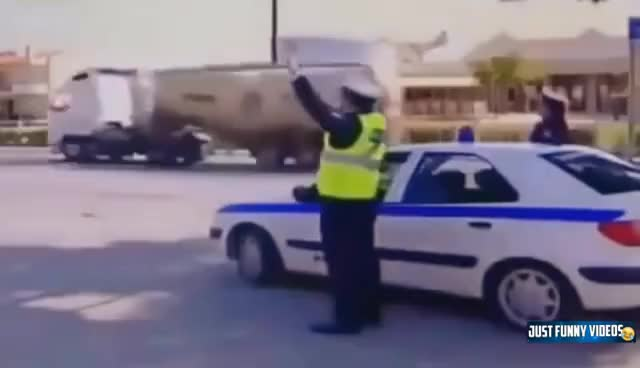 Watch and share Police FAIL Compilation || Best Funny Police Fail Video GIFs on Gfycat