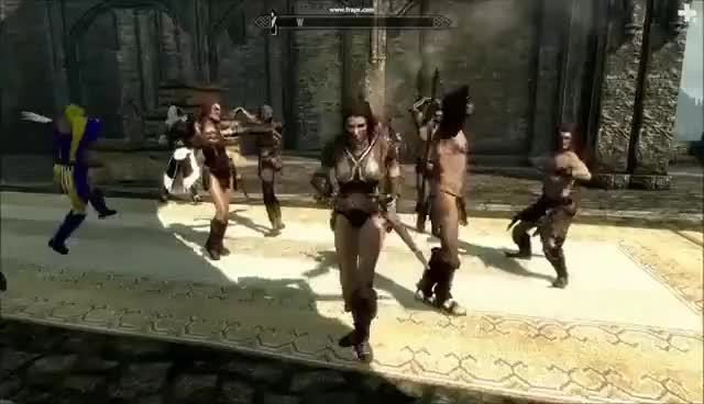 Watch Cicero brings the madness to Skyrim GIF on Gfycat. Discover more related GIFs on Gfycat