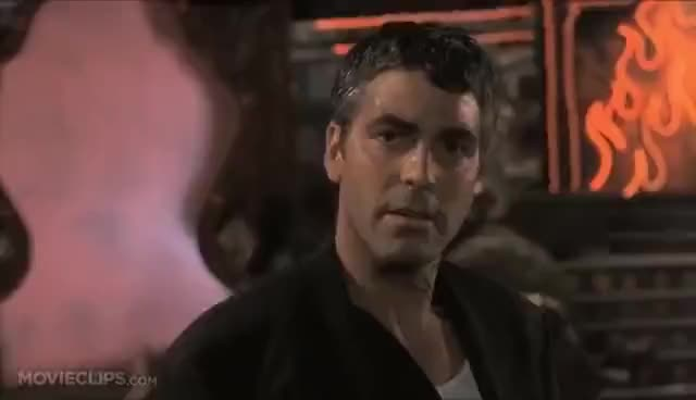 Watch and share From Dusk Till Dawn GIFs and George Clooney GIFs on Gfycat