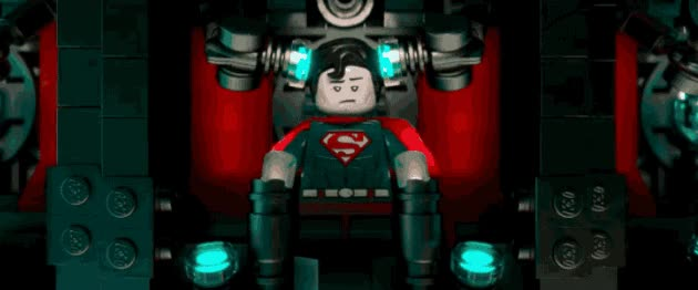 Watch and share Movie - The Lego Movie   Tags: Superman GIFs on Gfycat