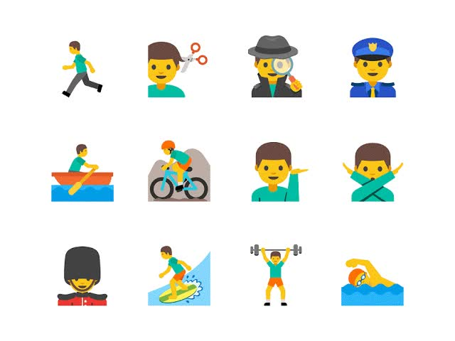 Watch and share Gender-emoji GIFs on Gfycat