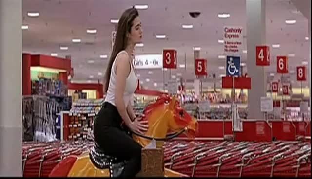Watch and share Jennifer Connelly Pony Rides GIFs on Gfycat