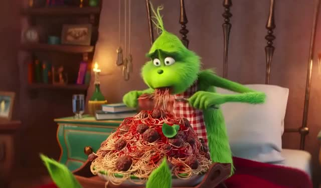 Watch this grinch GIF by GIF Queen (@ioanna) on Gfycat. Discover more alone, animated, christmas, depressed, dinner, drinking, eat, eating, food, grinch, holidays, hungry, lonely, lunch, movie, pasta, sad, spaghetti, the, the grinch GIFs on Gfycat
