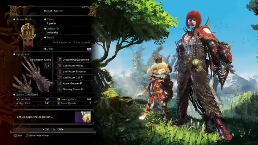 MHW Vampire Of Astera Stylish Endgame Build For Dual Blades