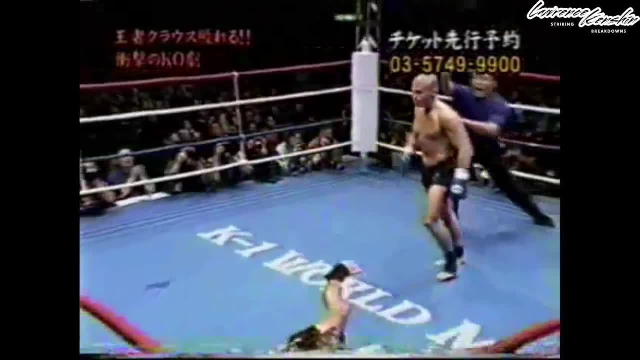 mmagifs, How to Beat Taller Fighters ft. Iron Mike Zambidis | Lawrence Kenshin (reddit) GIFs