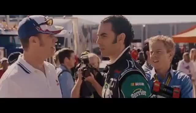 Watch and share Talladega Nights (2/8) Movie CLIP - That Just Happened! (2006) HD GIFs on Gfycat