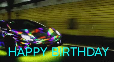 Watch and share Cool Happy Birthday Lamborghini Car Card Forguy GIFs on Gfycat