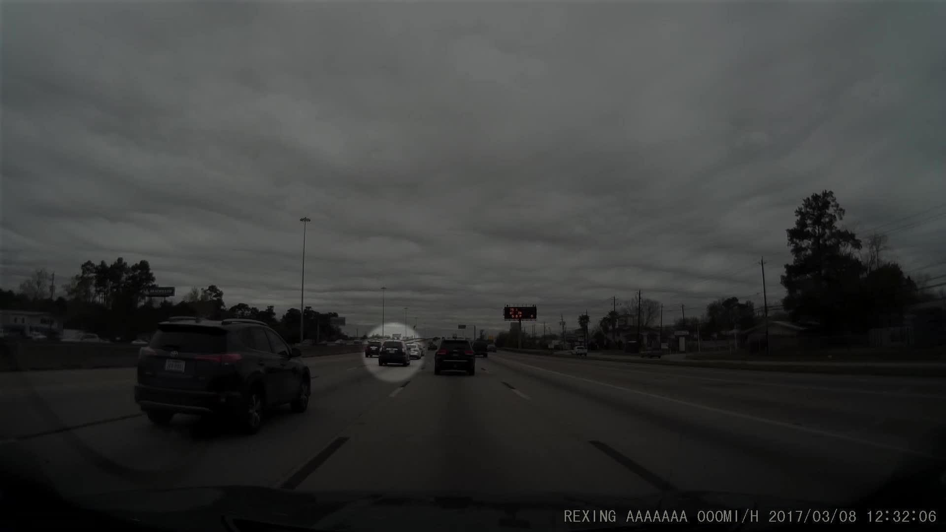 Roadcam, Honda CRV Unsafe Lane Change GIFs