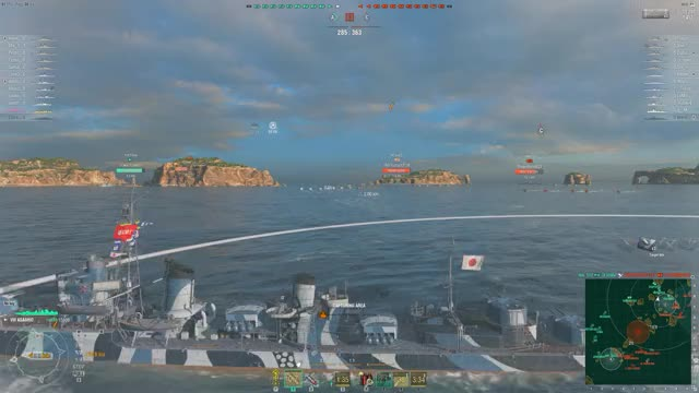 Watch and share World Of Warships 2018.08.24 - 17.42.06.03.DVR GIFs by mrtoaster10 on Gfycat