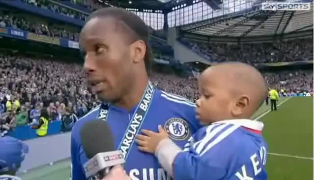 Watch and share Didier Drogba GIFs and Chelsea GIFs on Gfycat
