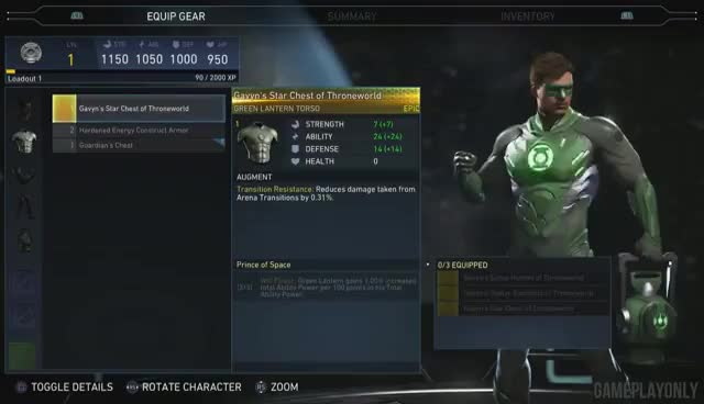 Watch and share Injustice 2 - Character Customization GIFs on Gfycat