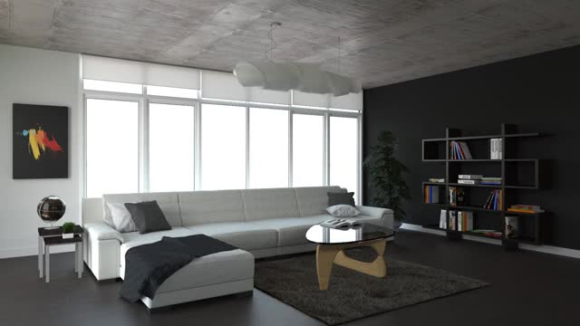 Watch Lounge Room FcoE GIF on Gfycat. Discover more 3dmodeling, Architecture, Interior design GIFs on Gfycat