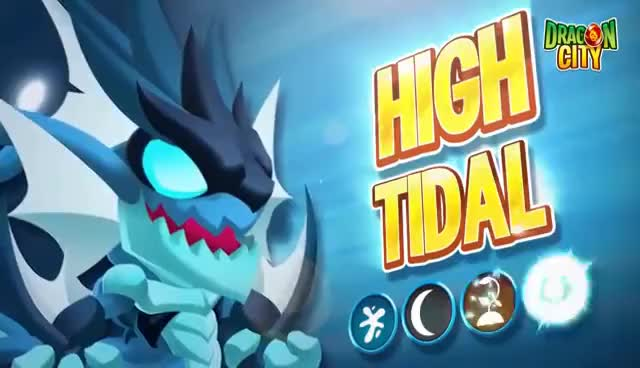 Watch and share The High Tidal Dragon GIFs on Gfycat