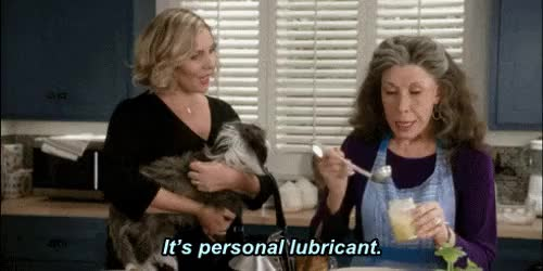 Watch this grace and frankie GIF on Gfycat. Discover more frankie bergstein, gif, grace and frankie, ras, s01e09, the invitation GIFs on Gfycat