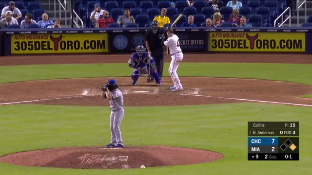 Watch and share Miami Marlins GIFs and Chicago Cubs GIFs by richardopl on Gfycat
