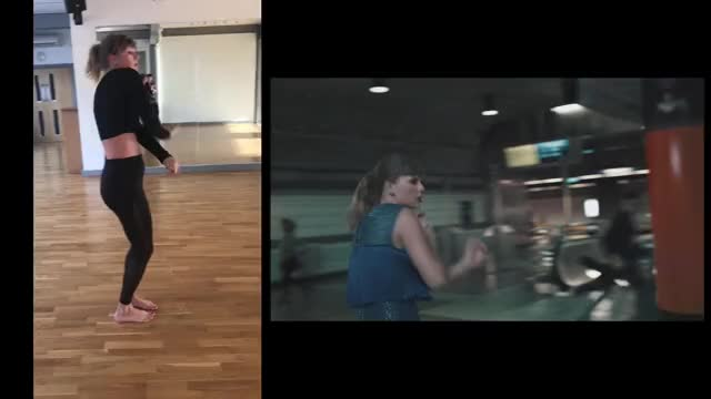 Taylor Swift - (03.13.18) Delicate Music Video Dance Rehearsal Part 2
