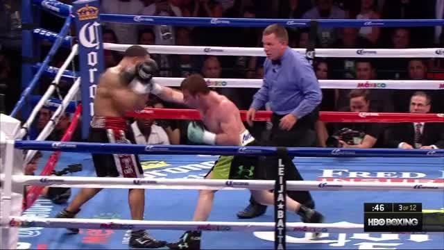Watch Saul Alvarez  Vs. James Kirkland - KO beta GIF by Tom_Cody (@tomcody) on Gfycat. Discover more Boxing, Canelo, Canelo Alvarez, James Kirkland, KD, KO, Knockdown, Knockout, Saul Alvarez GIFs on Gfycat