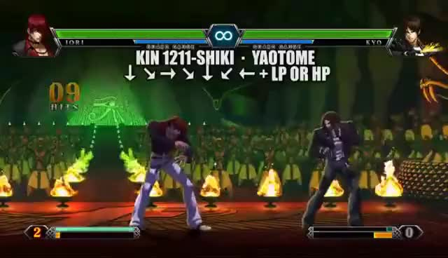 Watch and share The King Of Fighters XIII: Iori Yagami GIFs on Gfycat