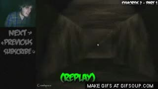 Watch PewDiePie Jumpscare GIF on Gfycat. Discover more related GIFs on Gfycat