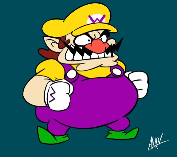 Watch Wario Dance GIF by themariostars (@the-mario-stars) on Gfycat. Discover more gaming, videogames, wario GIFs on Gfycat