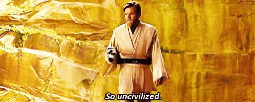 Watch Uncivilized Starwars GIF on Gfycat. Discover more related GIFs on Gfycat