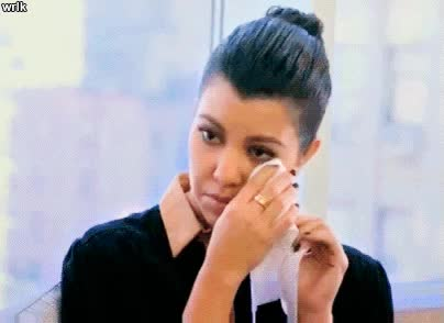 Watch and share Kourtney Crying GIFs on Gfycat