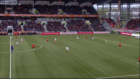 Watch and share Remy Cabella. Lorient - Montpellier. 20.04.2014 GIFs by fatalali on Gfycat