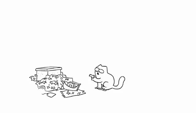 Watch and share Simon's Cat GIFs on Gfycat
